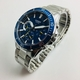 Men's Casio Multifunciton Blue Dial Steel 45 mm Watch MTD320D-2AV MTD320D-2A