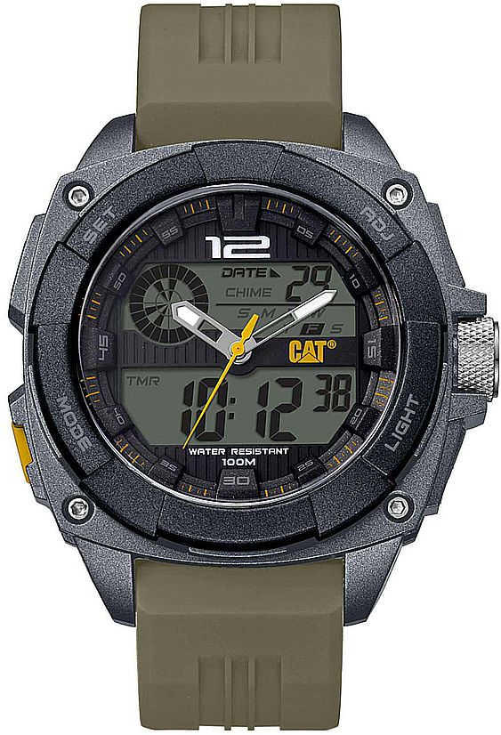 Men's CAT Caterpillar Analog Digital Sports Chronograph Watch MD15523121