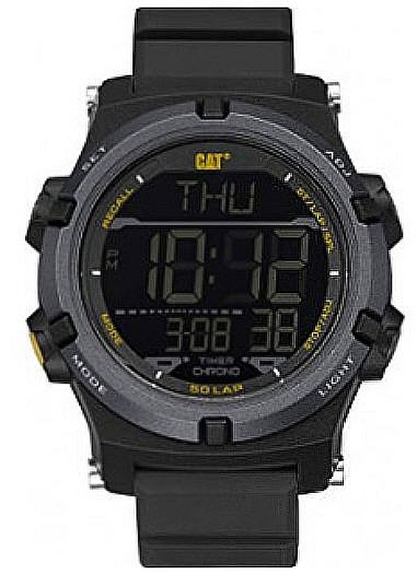 Men's CAT Caterpillar Crossfire Digital Chronograph Watch OB14721141