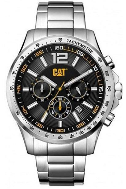Men's Caterpillar CAT Boston Chronograph Steel Watch AD14311131