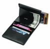 Men's Leather RFID Blocking Money Clip Wallet Credit Card Holder Unicorn #0080