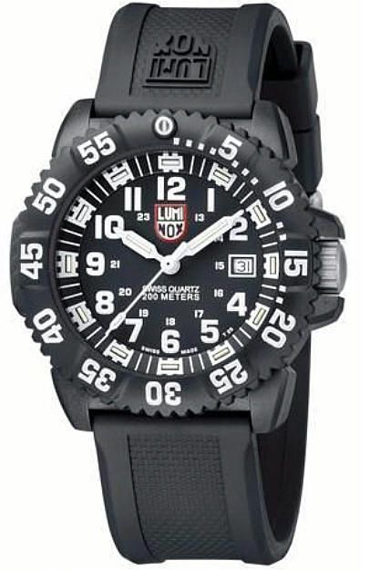 Men's Luminox EVO Navy Seal Colormark Diver's Military Watch 3051