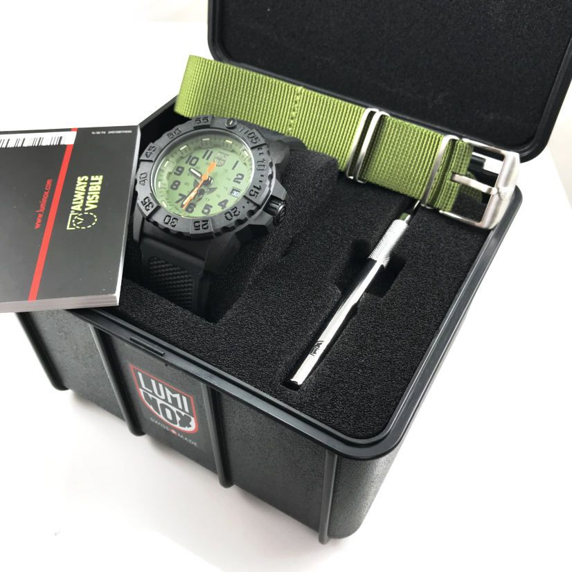 Men's Luminox Navy SEAL 45mm Military Watch 3501.BO.TV.SEL 3501.BO.TV.SET