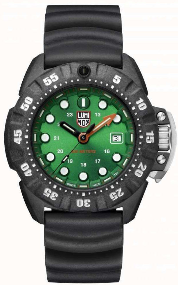 Men's Luminox SCOTT CASSELL DEEP DIVE 45mm Military Watch 1567