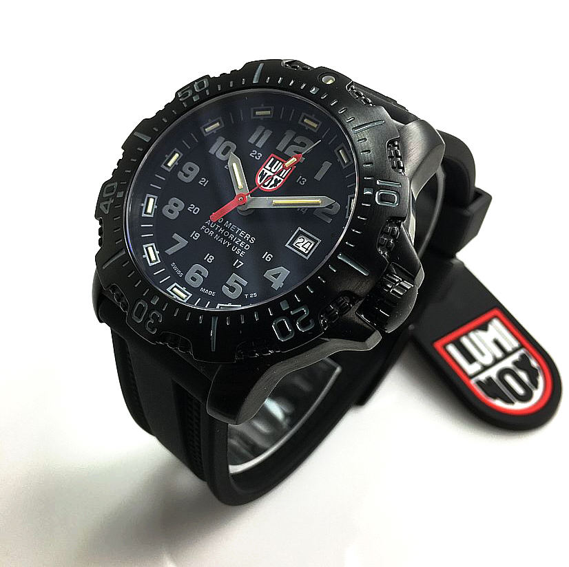 Men's Luminox Sea Black Diver's Watch 4221.NV