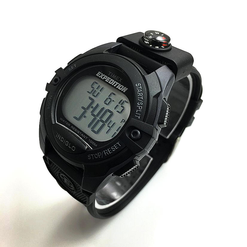 Timex Expedition Black Digital Watch (For Men) - Save 47% |Timex Expedition Digital Watches Men