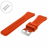 Nautica Compatible Orange Rubber Silicone Replacement Watch Band Strap Quick Release Pins #4044