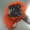 Orange Casio G-Shock Ana-Digi Watch GA110MR-4A