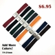 Emporio Armani Compatible Orange Rubber Silicone Replacement Watch Band Strap Double Locking Steel Buckle #4013