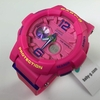 Pink Casio Baby-G Tide Graph Ana-Digi Watch BGA180-4B3
