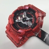 Red Casio G-Shock Analog Digital XL Watch GA110SL-4A