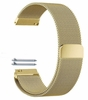 Relic Compatible Gold Tone Magnetic Clasp Steel Metal Mesh Milanese Bracelet Watch Band Strap #5043