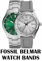 Replacement Bands for Fossil Belmar watch