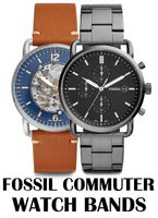 Replacement Bands for Fossil Commuter watch