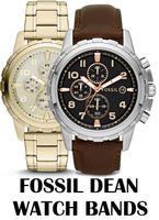 Replacement Bands for Fossil Dean Chronograph watch