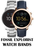 Replacement Bands for Fossil Explorist Smart watch