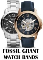 Replacement Bands for Fossil Grant watch