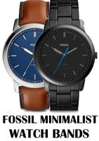Replacement Bands for Fossil Minimalist watch