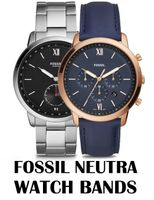 Replacement Bands for Fossil Neutra watch