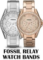 Replacement Bands for Fossil Riley Multifunction watch