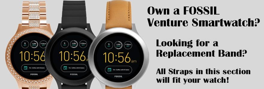 Replacement Bands for Fossil Venture Smartwatch watch