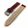 Rich Red Snake Lizard Pattern Shiny Leather Replacement Watch Band Strap #1205