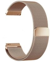 Rose Gold Magnetic Clasp Steel Metal Mesh Milanese Bracelet Watch Band Strap #5044
