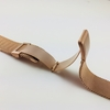 Emporio Armani Compatible Rose Gold Steel Metal Adjustable Mesh Bracelet Replacement Watch Band Strap #5024