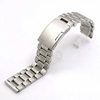 Pebble Time Classic Round Stainless Steel Metal Bracelet Replacement Watch Band Strap Push Button Clasp #5015