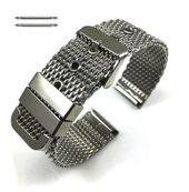 Stainless Steel Thick Mesh Replacement Watch Band Strap #5101
