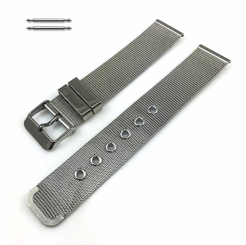 Stainless Steel Thin Mesh Replacement Watch Band Strap #5106