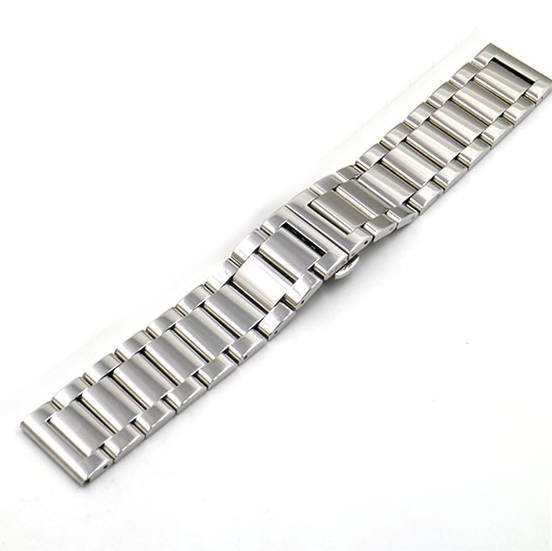 Coach Compatible Stainless Steel Metal Bracelet Replacement Watch Band Strap Push Butterfly Clasp #5010