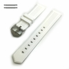 White Silicone Replacement Watch Band Strap #4412