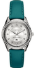Women's Armani Exchange Dylann Turquoise Leather Crystalized Watch AX5436