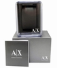 Women's Armani Exchange Lady Bank's White Leather Crystalized Watch AX4328
