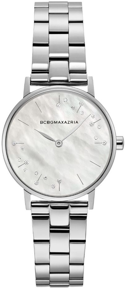 Women's BCBGMAXAZRIA Crystallized Pearl Dial BCBG Watch BG50822001