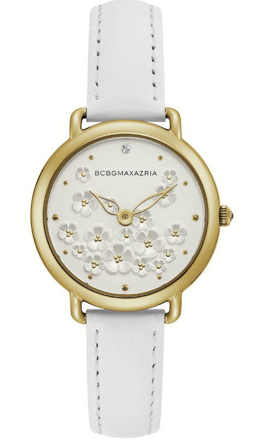 Women's BCBGMAXAZRIA Crystallized Rose Gold Steel BCBG Watch BG50676002