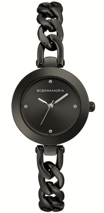 Women's BCBGMAXAZRIA Gunmetal Stainless steel Round BCBG Watch BG50695004