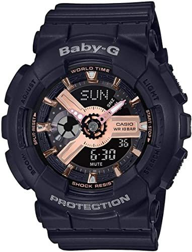 Women's Casio Baby-G Digital Analog Sports Watch BA110RG-1A