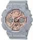 Women's Casio G-Shock Black Ana-Digi Watch GMAS120MF-8A