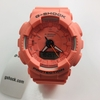 Women's Casio G-Shock Digital Analog Orange Watch GMAS130VC-4A