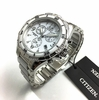 Women's Citizen Chronograph Ceramic Diamond Watch FB1230-50A