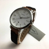 Women's Fossil Jacqueline Black And Brown Leather Watch ES4208