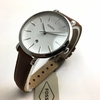 Women's Fossil Jacqueline Brown Leather Strap Watch ES4368