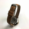 Women's Fossil Jacqueline Date Display Brown Leather Watch ES4274