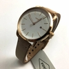 Women's Fossil The Commuter Leather Band Watch ES4335