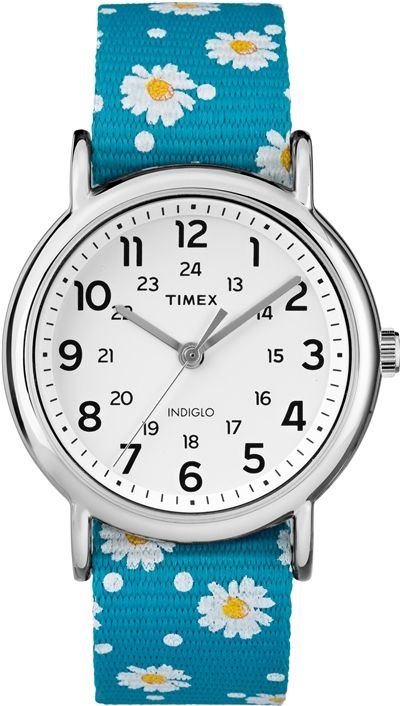 Women's Timex Weekender 20mm Fabric Strap Watch TW2R24000