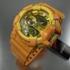 Yellow Casio G-Shock Analog Digital Watch GA400A-9A