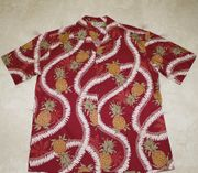 130 Hawaii shirt Pineapple leis , M-2XL