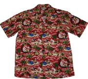 "131 Hawaiian shirt Christmas Red<a name=""135""><a name=""134""><a name=""136"">"